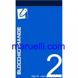 BLOCCO COMANDE  2 COPIE