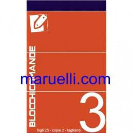 Blocco Comande  3 Copie