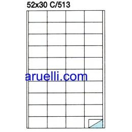 Etichette Foglio A4  52x30...