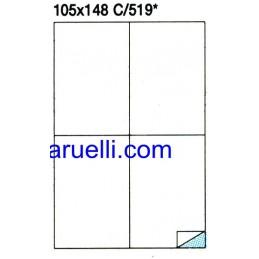 Etichette Foglio A4 105X148...