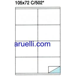 Etichette Foglio A4 105X72...