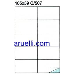 Etichette Foglio A4 105X59...