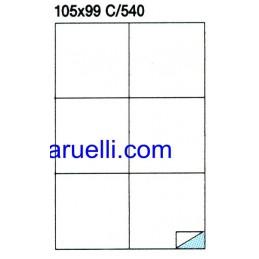 Etichette Foglio A4 105X99...