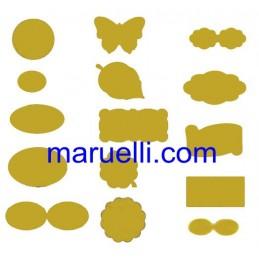 Etic Carta A4 Oro 22X16 100ff
