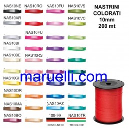 Nastrino 10mm 250Yards Fuxia