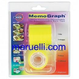 Memograph mm 50 per 10Mt...