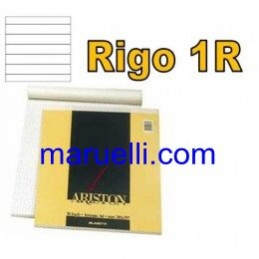 Blocco Notes 1 Rigo 22X30 70ff