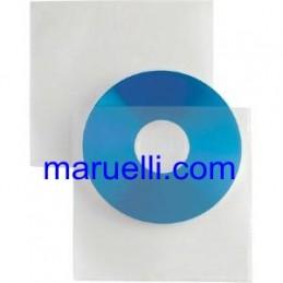 BUSTA TRASPARENTE  PER CD 25PZ