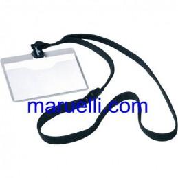 Porta Badge 9X5 con Cordoncino