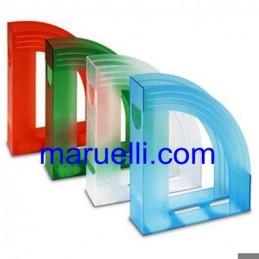 Porta Riviste in Plastica Blu