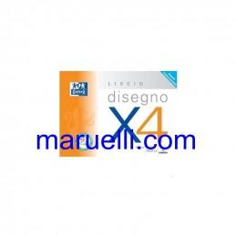 Blocco Oxford X4 33X48 Ruvido