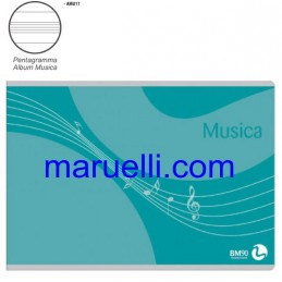 Album Musica F.To 17X24 16ff