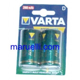 Batterie Ricaricabili D 2Pz...