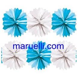 Festone Fiocco Azzurro  5mt