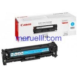 Canon Toner 718 Lbp7200 Ciano