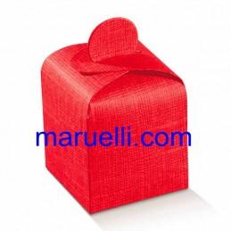 Cubetto 50X50X55 Seta Rosso...