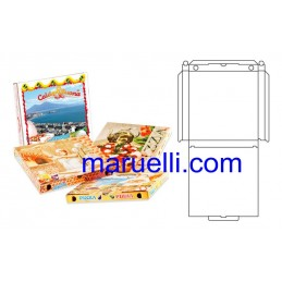 Scatole Pizza 100Pz 36X36 Kbsr
