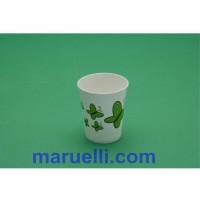 Bicchieri Biodegrdabili e Compostabili di Cartoncino con MaterBi Adatto per Cibi o bevande Caldi Monouso