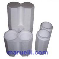 Contenitori Protettivi per Bottiglie in Polistirolo Espanso