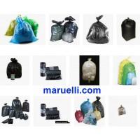 Sacchi Immondizia in polietilene e Biodegradabili