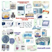Igienica Strofinacci Bobine e Dispenser