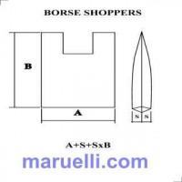 Shoppers Ld Fondo Colorato Stampate