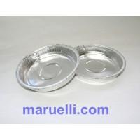 Contenitori Alluminio 100Pz Rotondi